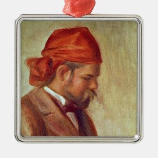 Ornement Carré Argenté Pierre un portrait de Renoir | d'Ambroise Vollard