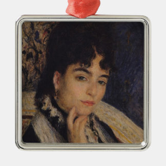 Ornement Carré Argenté Pierre un portrait de Renoir | de Mme. Alphonse
