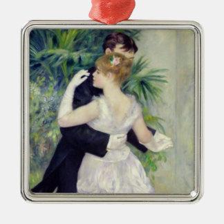 Ornement Carré Argenté Pierre une danse de Renoir | dans la ville