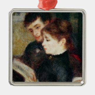 Ornement Carré Argenté Pierre une lecture de couples de Renoir |
