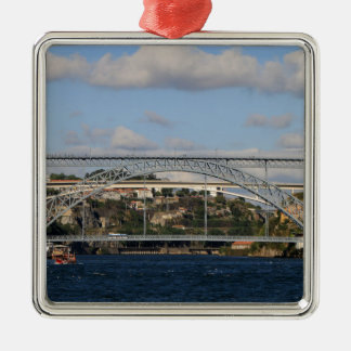 Ornement Carré Argenté Pont des DOM Luis I, Porto, Portugal