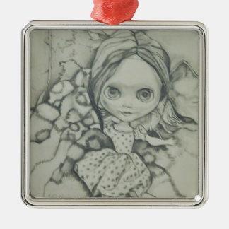 Ornement Carré Argenté Produits de poupée de Blythe