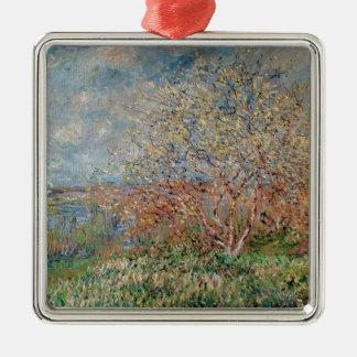 Ornement Carré Argenté Ressort de Claude Monet |