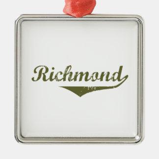 Ornement Carré Argenté Richmond