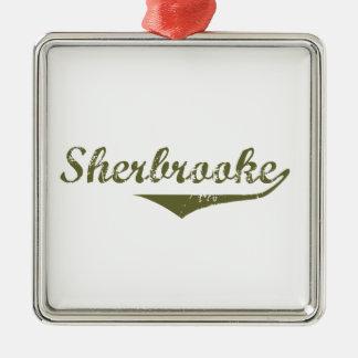 Ornement Carré Argenté Sherbrooke