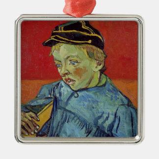 Ornement Carré Argenté Vincent van Gogh | l'écolier, 1889-90