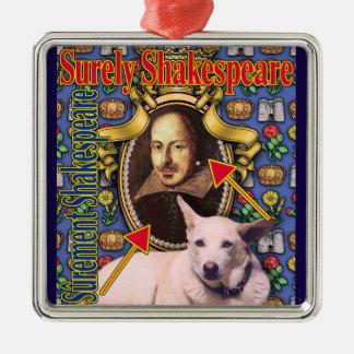 Ornement Carré Argenté ZoeSPEAK - sûrement Shakespeare
