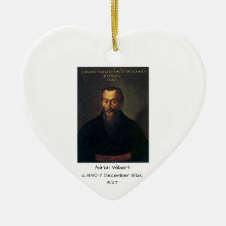 Ornement Cœur En Céramique Adrian Willaert