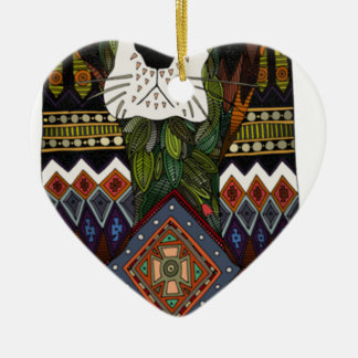 Ornement Cœur En Céramique Amour de Basset Hound