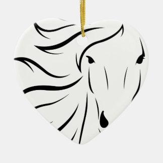 Ornement Cœur En Céramique animal-1300243