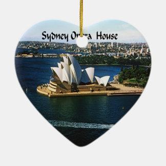 Ornement Cœur En Céramique Chambre d'Oprea de port de Sydney