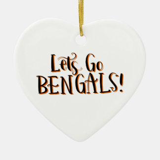 Ornement Cœur En Céramique Copie de Bengals