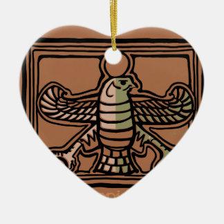 Ornement Cœur En Céramique Empire d'Achaemenid par AncientAgesPrints