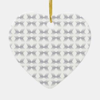 Ornement Cœur En Céramique flèche pattern.png