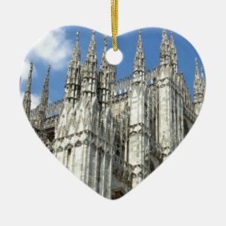 Ornement Cœur En Céramique flèches de fantaisie d'église