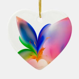 Ornement Cœur En Céramique Grande boîte-cadeau d'arc