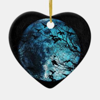 Ornement Cœur En Céramique Mars