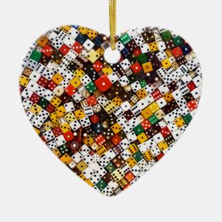 Ornement Cœur En Céramique Matrices
