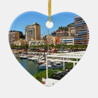 Ornement Cœur En Céramique Monte Carlo au Monaco