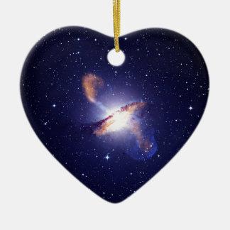 Ornement Cœur En Céramique NGC 5128 Centaurus une NASA de galaxie
