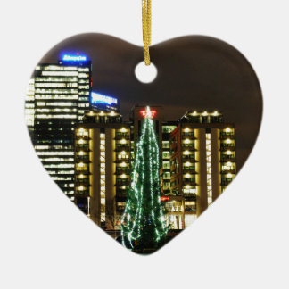 Ornement Cœur En Céramique Noël à Oslo, Norvège