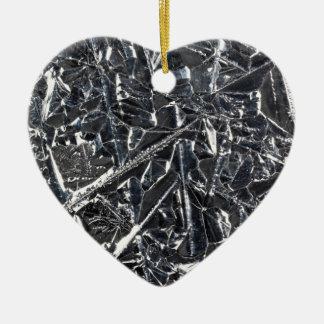 Ornement Cœur En Céramique Surface des cristaux purs de silicium