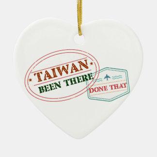 Ornement Cœur En Céramique Taïwan là fait cela
