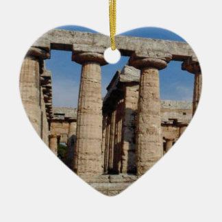 Ornement Cœur En Céramique tours antiques du monde