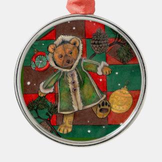 Ornement d'arbre de ChristmasTeddy~