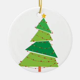 Ornement d'arbre de Noël - conception d'arbre de