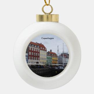 Ornement d'arbre de Noël de Copenhague