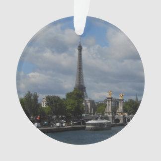 Ornement d'arbre de Noël de Paris