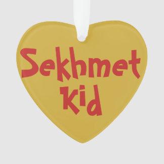 """Ornement de 2-Ton """"d'enfant de Sekhmet"""""""