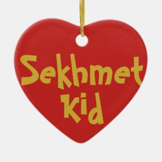 """Ornement de 2-Ton """"d'enfant de Sekhmet"""" (en"""