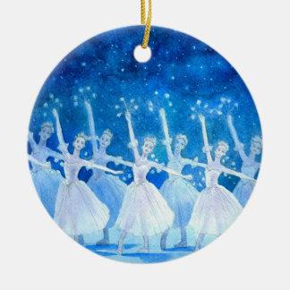 Ornement de ballet - danse des flocons de neige
