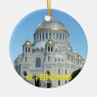 Ornement de cercle de la Russie de St Petersbourg