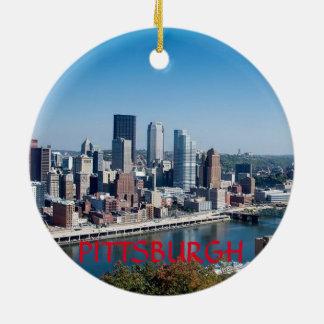 Ornement de cercle de Pittsburgh Pennsylvanie