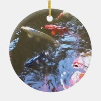 Ornement de cercle d'étang de Koi
