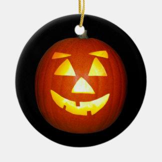 Ornement de citrouille de Halloween