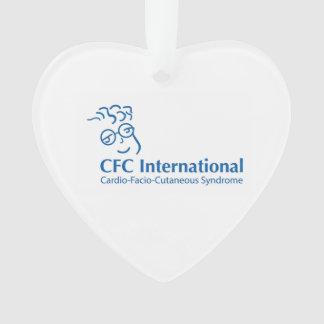 Ornement de coeur de CFC