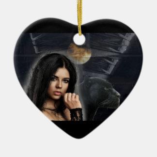 Ornement de coeur de Jazzmine