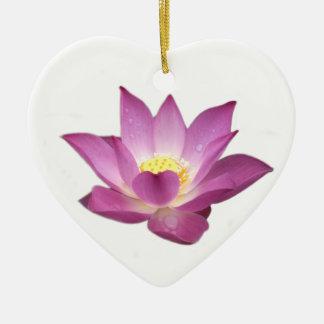 Ornement de coeur de Lotus