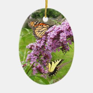 Ornement de ~ de Twofer de papillon