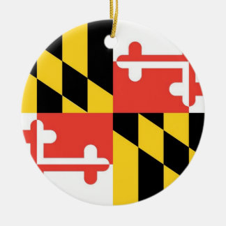 Ornement de drapeau d'état du Maryland