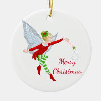 Ornement de fée de Noël