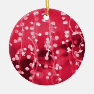 Ornement de fête de saison de Noël de quirlandes