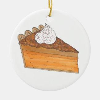 Ornement de fin gourmet de Noël de tranche de