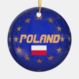 Ornement de la Pologne E.U. Custom Christmas