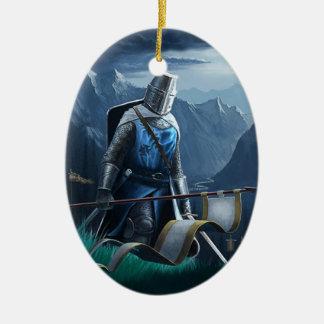 Ornement de marche de chevalier