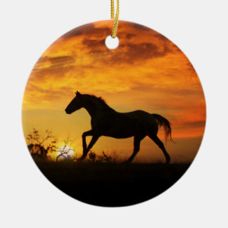 Ornement de mémorial de cheval